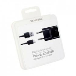 Samsung Oryginalna ładowarka USB-C - Zestaw (kostka + kabel) czarny