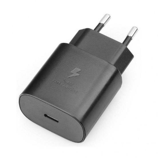 Samsung Oryginalna ładowarka sieciowa (kostka) USB-C 2A 25W czarna