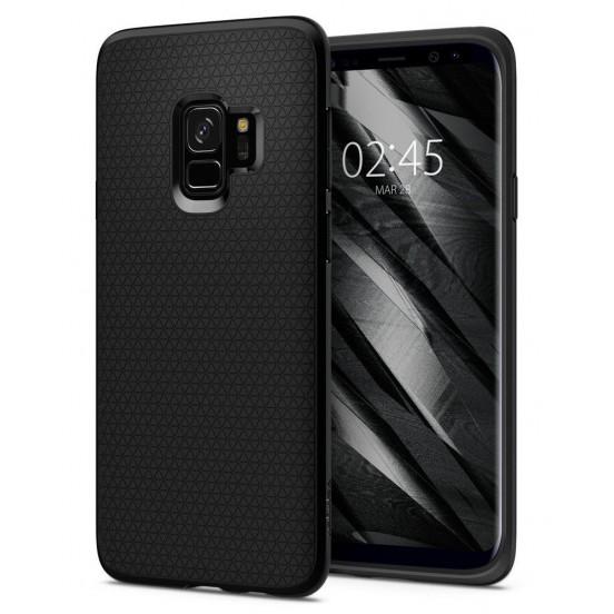 Spigen Liquid Air Black Etui do Samsunga S9 / S8