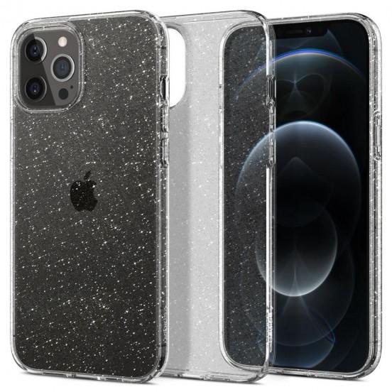 Spigen Liquid Crystal Glitter Etui do iPhone 12 / 12 Pro